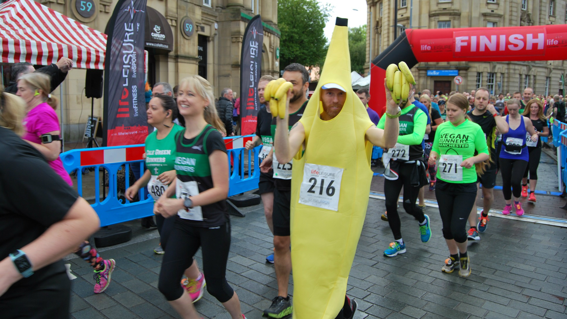 Huge Turnout for Big Stockport Run