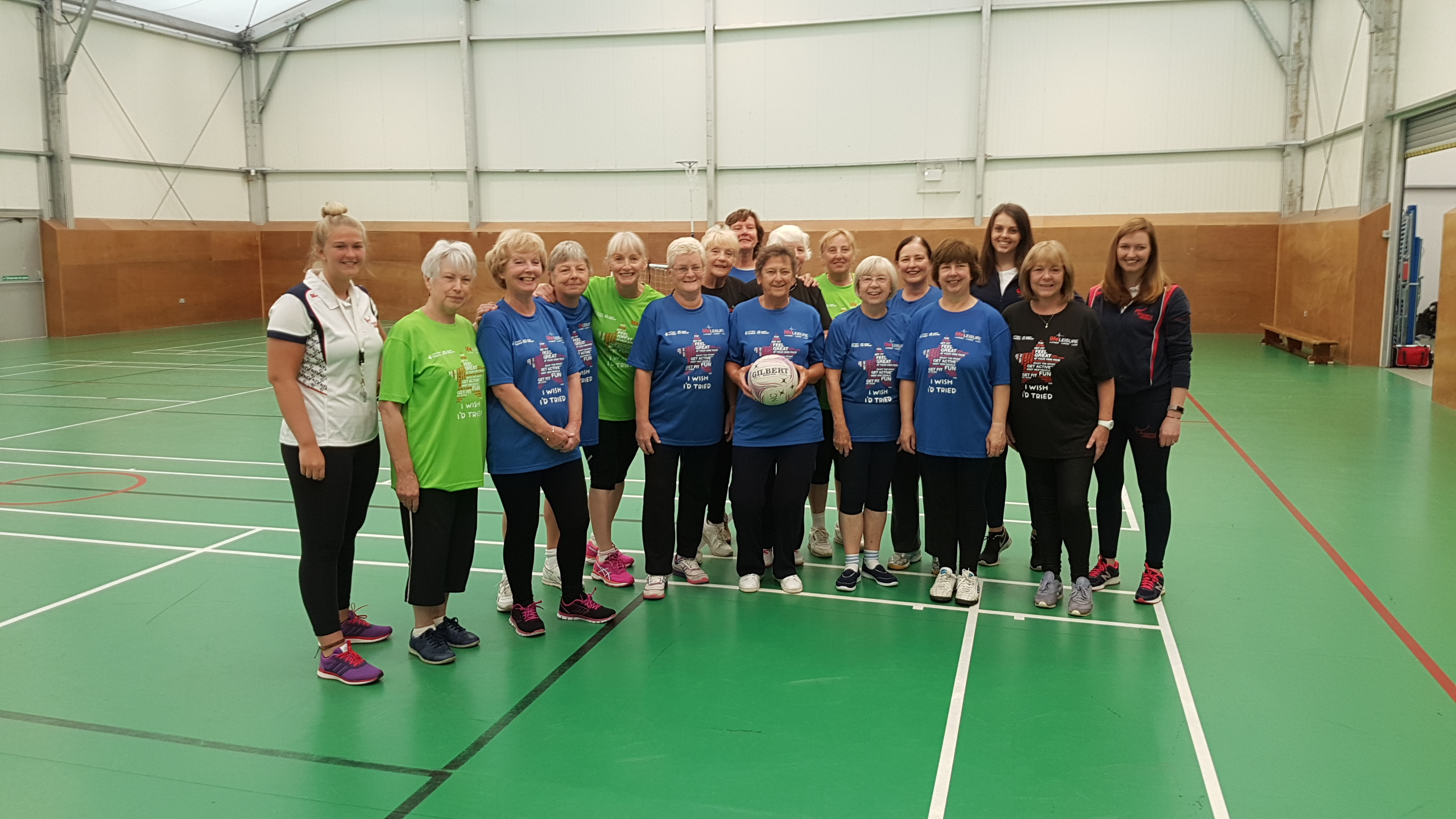 Iwit Walking Netball 14Th Sept 2017 3